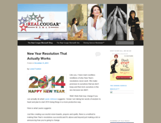 realcougarwoman.wordpress.com screenshot
