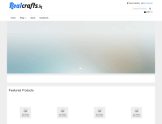realcrafts.in screenshot