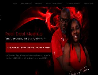 realdealmeetup.com screenshot