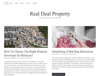 realdealproperty.com screenshot