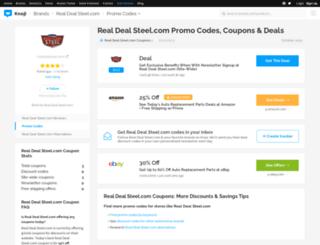 realdealstreetcom.bluepromocode.com screenshot