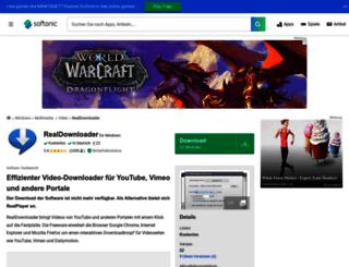 realdownloader.softonic.de screenshot