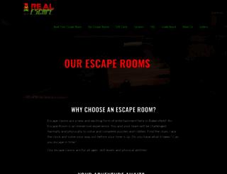 realescapebakersfield.com screenshot