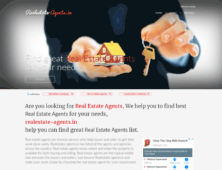 realestate-agents.in screenshot