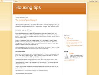 realestate-housingtips.blogspot.in screenshot