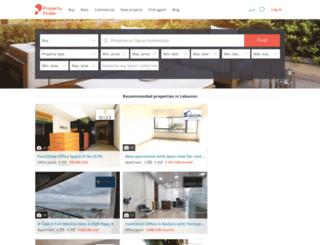 realestate.com.lb screenshot