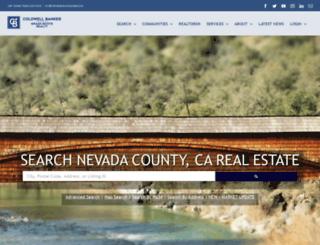 realestate.nevadacounty4sale.com screenshot