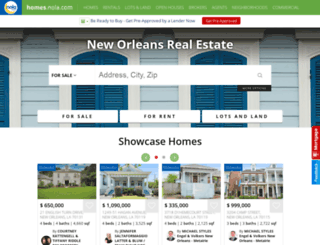 realestate.nola.com screenshot