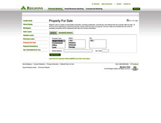 realestate.regions.com screenshot