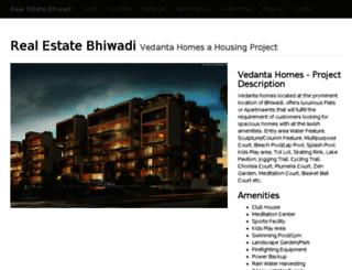 realestatebhiwadi.com screenshot