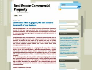 realestatecommercialproperty.wordpress.com screenshot