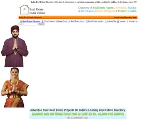realestateindiaonline.com screenshot