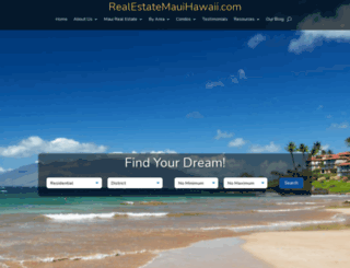 realestatemauihawaii.com screenshot