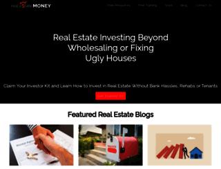 realestatemoney.com screenshot
