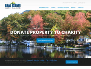 realestatewithcauses.org screenshot