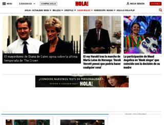 realeza.hola.com screenshot