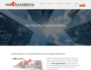 realfoundations.net screenshot