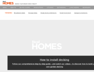 realhomes.co.uk screenshot