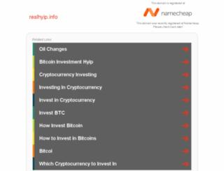 realhyip.info screenshot