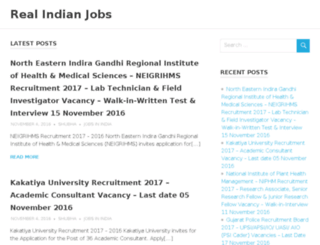 realindianjobs.com screenshot