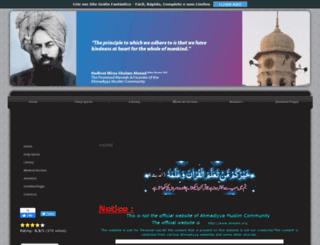 realislam.nation2.com screenshot