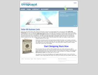 realisticdropcard.com screenshot