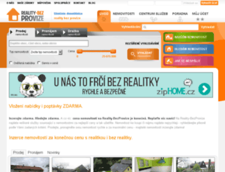 reality-bezprovize.cz screenshot