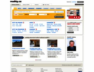 reality.cz screenshot