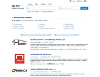 reality.info-hradec.cz screenshot