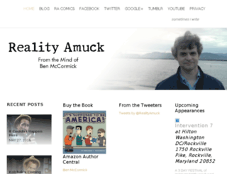 realityamuck.com screenshot