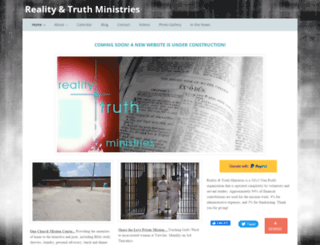 realityandtruth.com screenshot