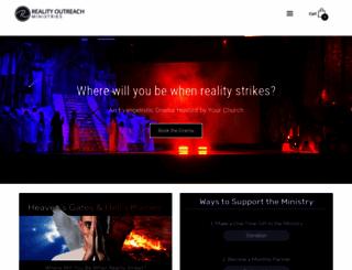 realityoutreach.org screenshot