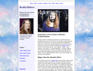 realityshifters.com screenshot