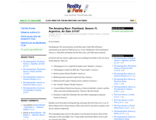 realitytvfans.com screenshot