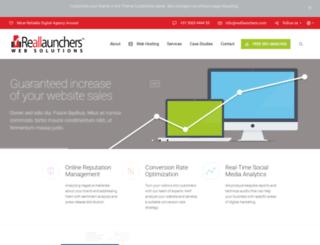 reallaunchers.co.in screenshot