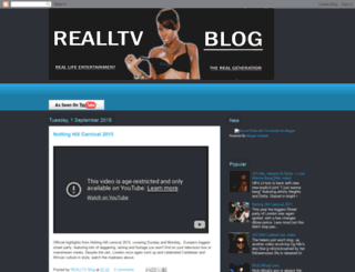 realltv.blogspot.com screenshot