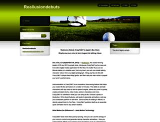 reallusiondebuts.webnode.fr screenshot