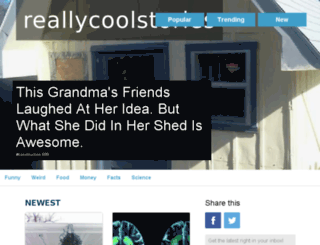 reallycoolstories.com screenshot