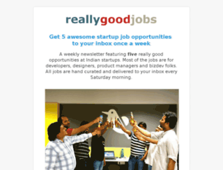 reallygoodjobs.com screenshot