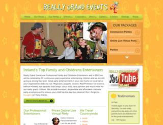 reallygrandevents.com screenshot