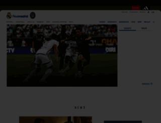 realmadrid.com screenshot
