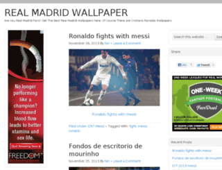 realmadridwallpaper.us screenshot