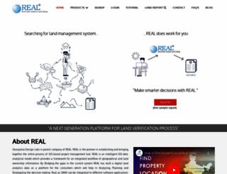 realmaps.co.in screenshot
