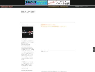realment.militaryblog.jp screenshot