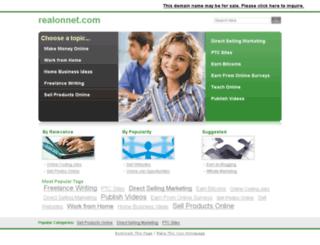 realonnet.com screenshot