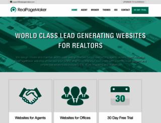 realpagemaker.com screenshot