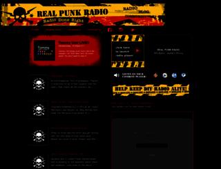 realpunkradio.com screenshot