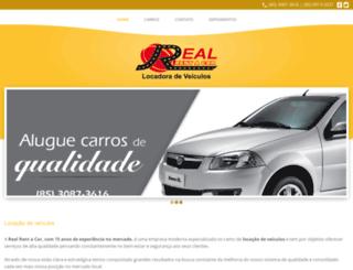 realrentacarce.com.br screenshot