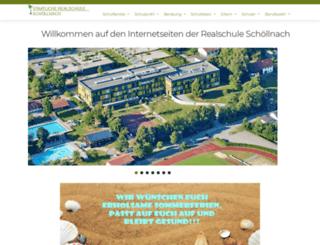 realschule-schoellnach.de screenshot