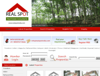 realspotindia.com screenshot